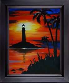 Caribbean Lighthouse Icon