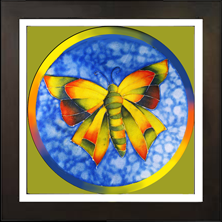 Rainbow Butterfly Live Icon