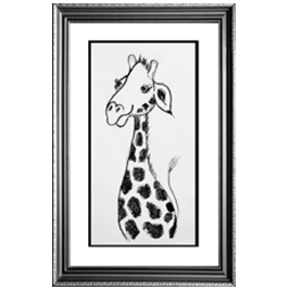 Giraffe in Cartoon - live icon