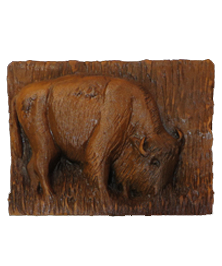 Western Buffalo Icon